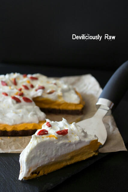 RawVegan Goji Berry Cheesecake