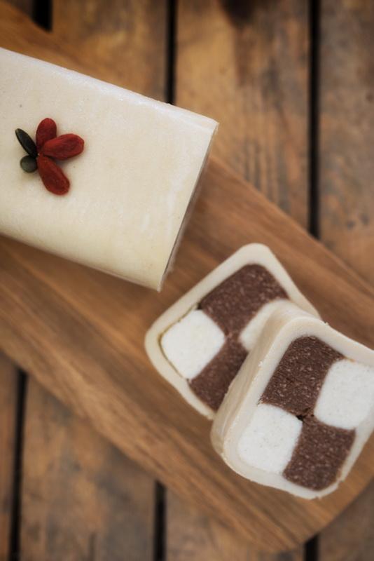 #raw #vegan Battenberg Cake | Deviliciously Raw