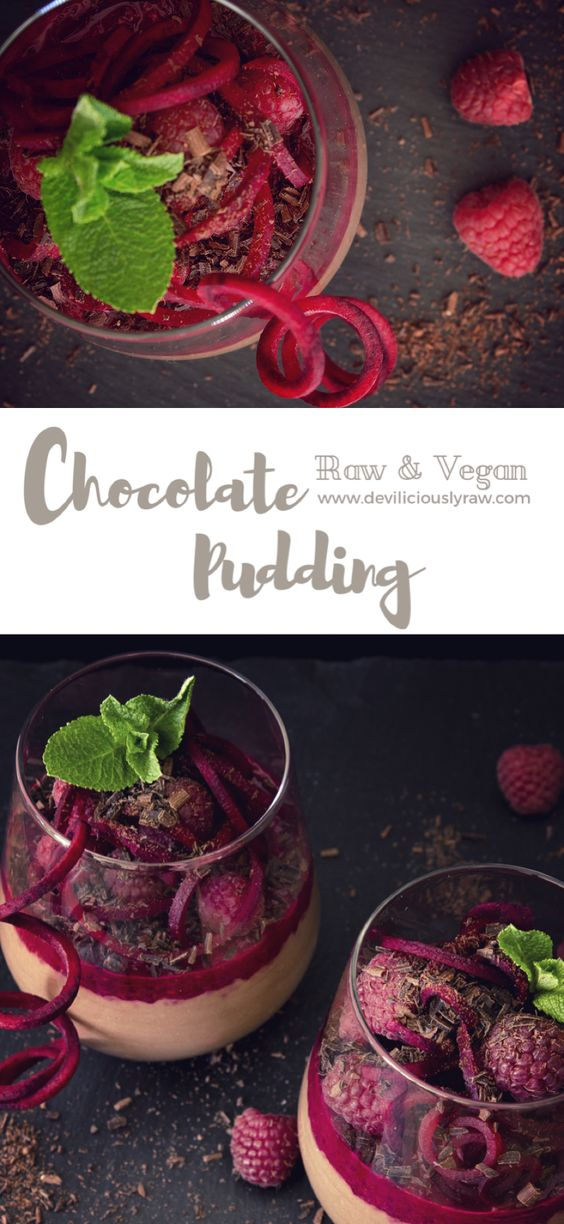 Chocolate Pudding with Beetroot & Raspberry Jam