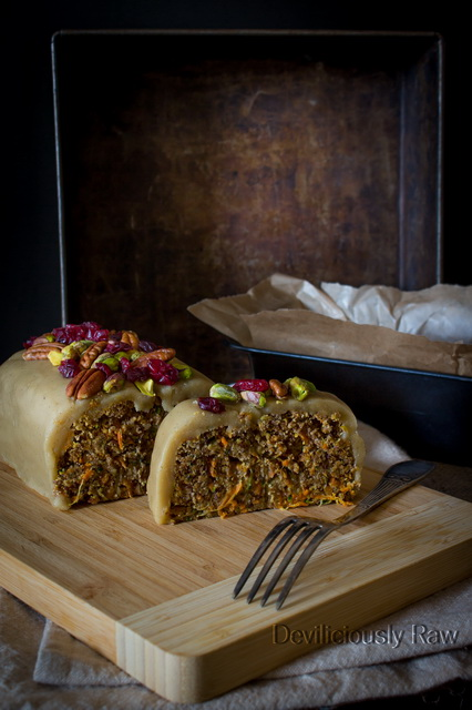 #raw #vegan Carrot Cake from Deviliciously Raw