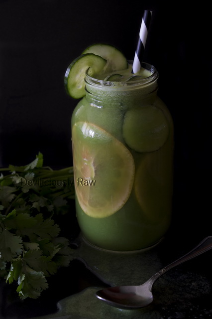 Glow from the inside out - Morning healthy drinks from Deviliciously Raw