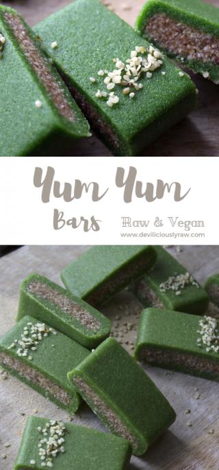 Yum Yum Energy Bars from Deviliciously Raw