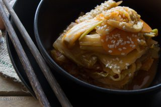 Homemade Vegan Kimchi Recipe by Deviliciously Raw