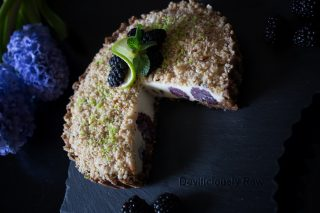 Raw Vegan Blackberry Cake from Deviliciously Raw