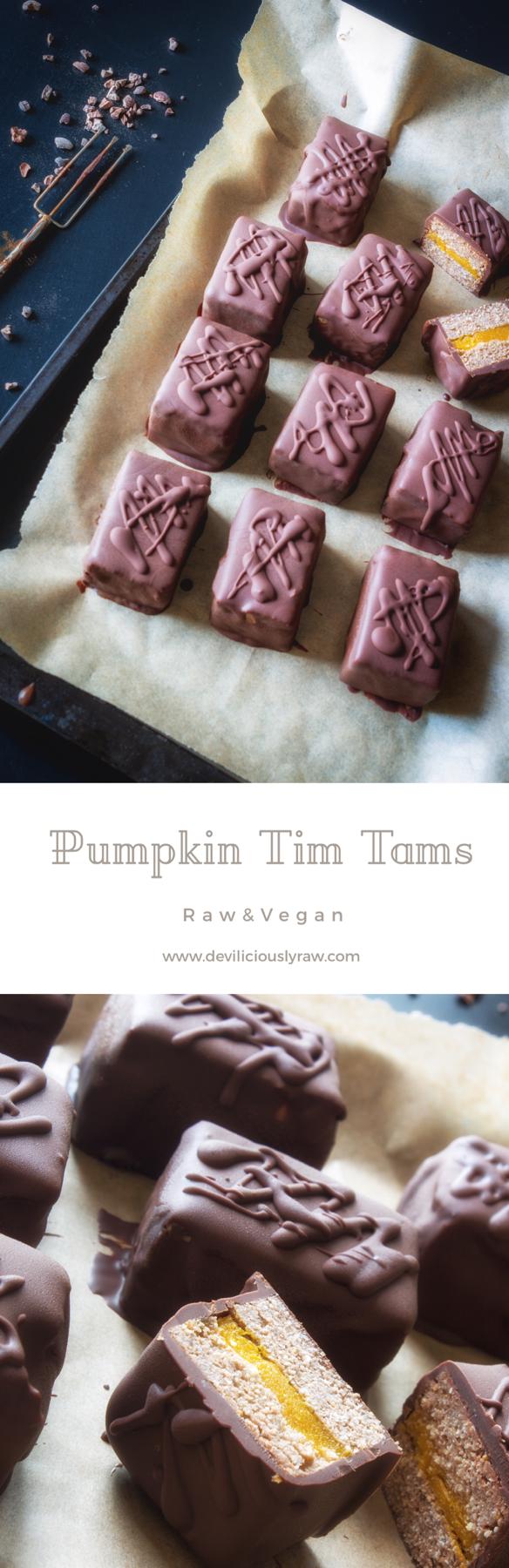 Pumpkin Tim Tams
