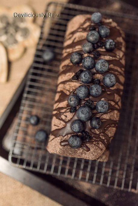 #raw #vegan Gingerbread Roulade from Deviliciously Raw
