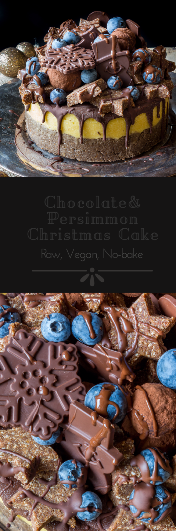 #raw #vegan Christmas Cake from Deviliciously Raw