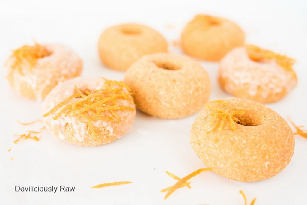#raw #vegan Grapefruit Donuts from Deviliciously Raw