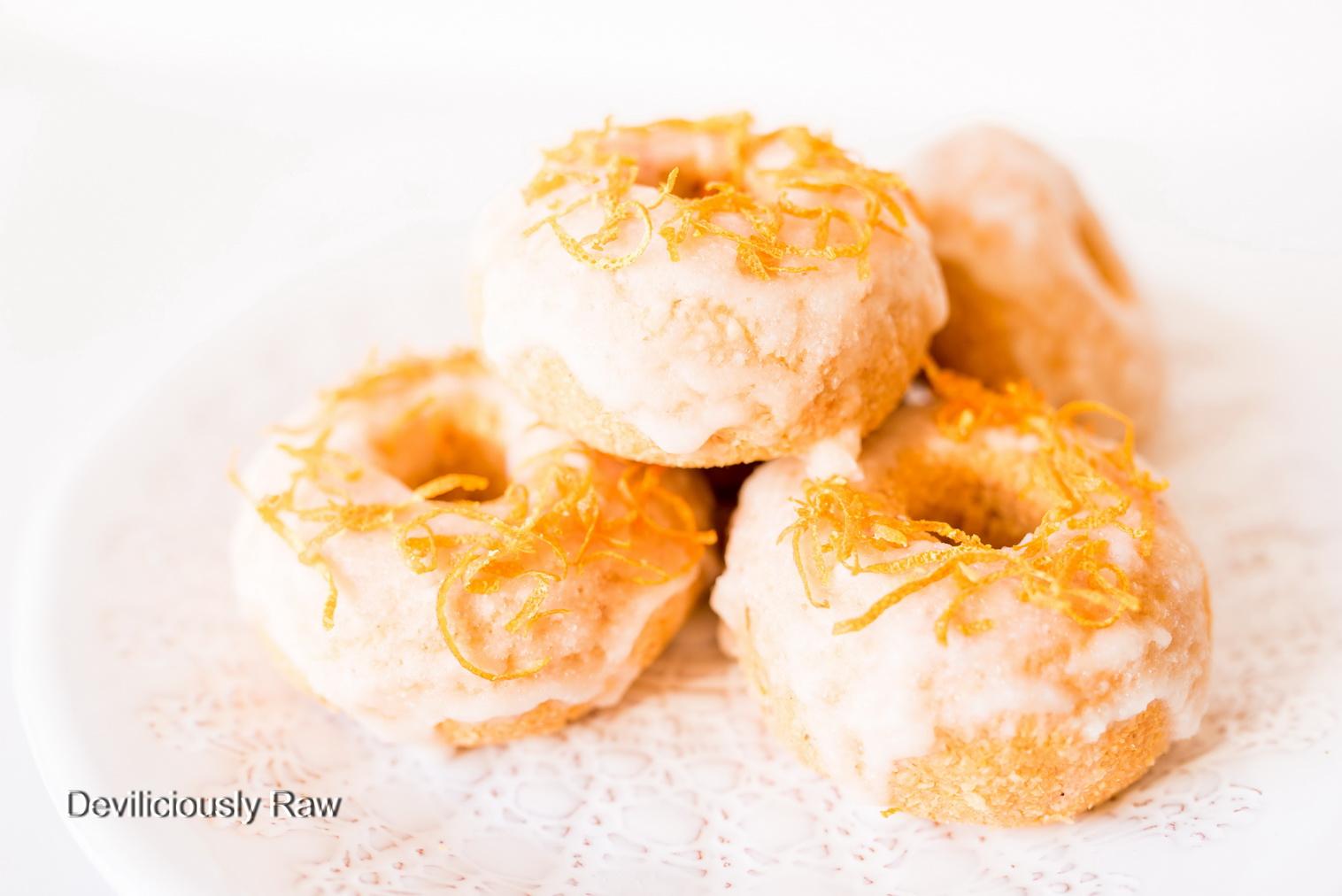 Grapefruit Donuts