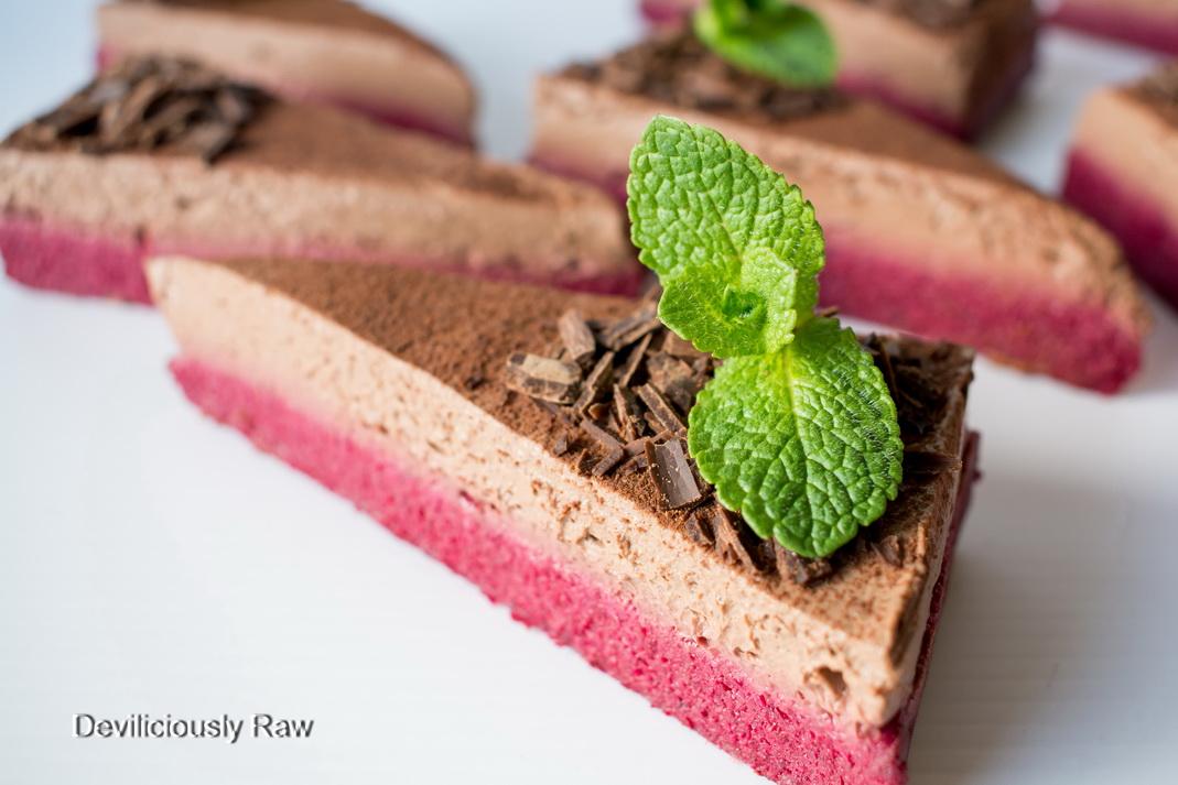 Raw Chocolate Beetroot Cake