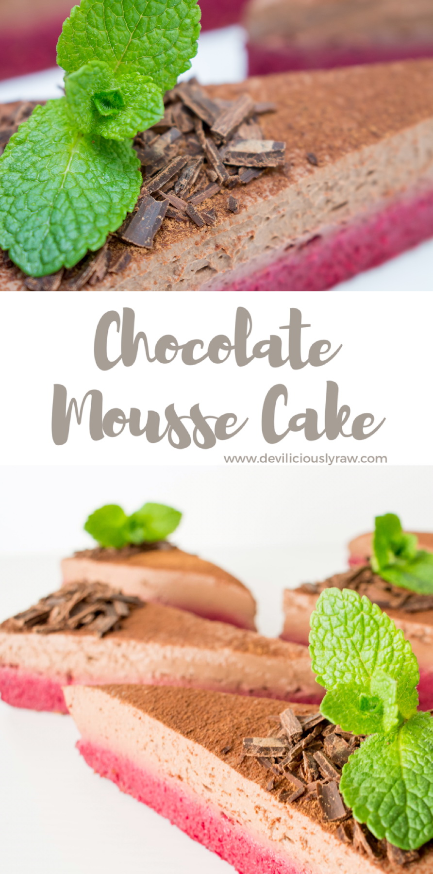 Beetroot & Chocolate Mousse Cake