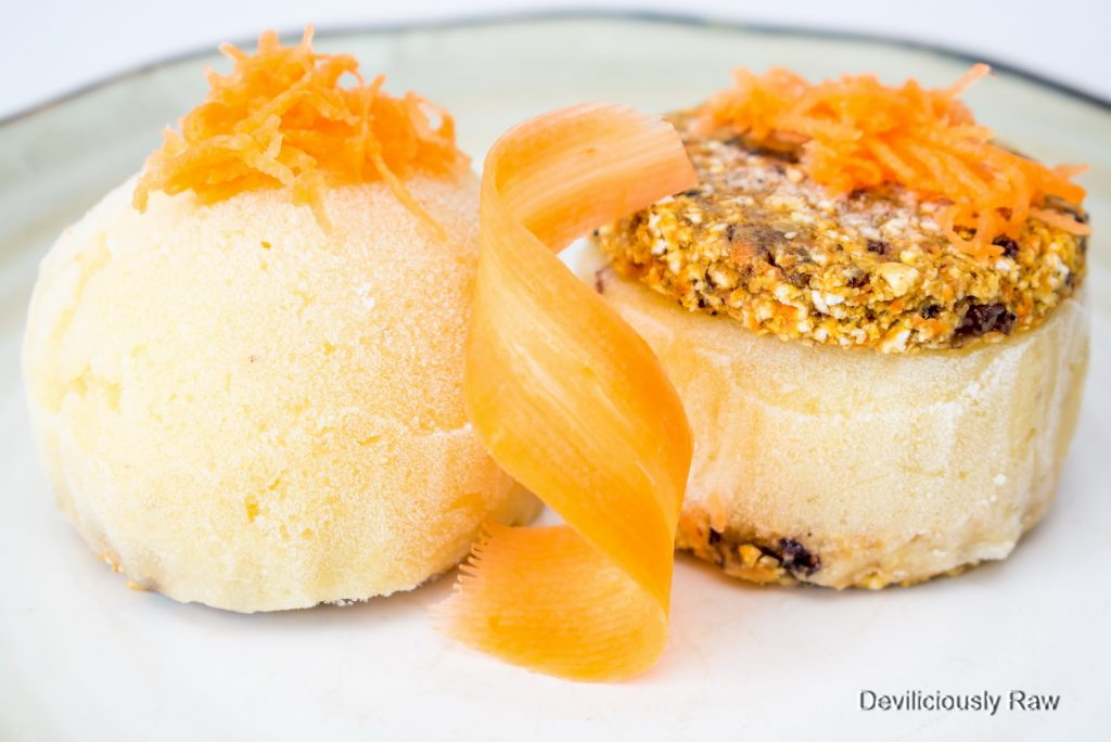 #raw #vegan Carrot Cake Ice Sandwich from Deviliciously Raw