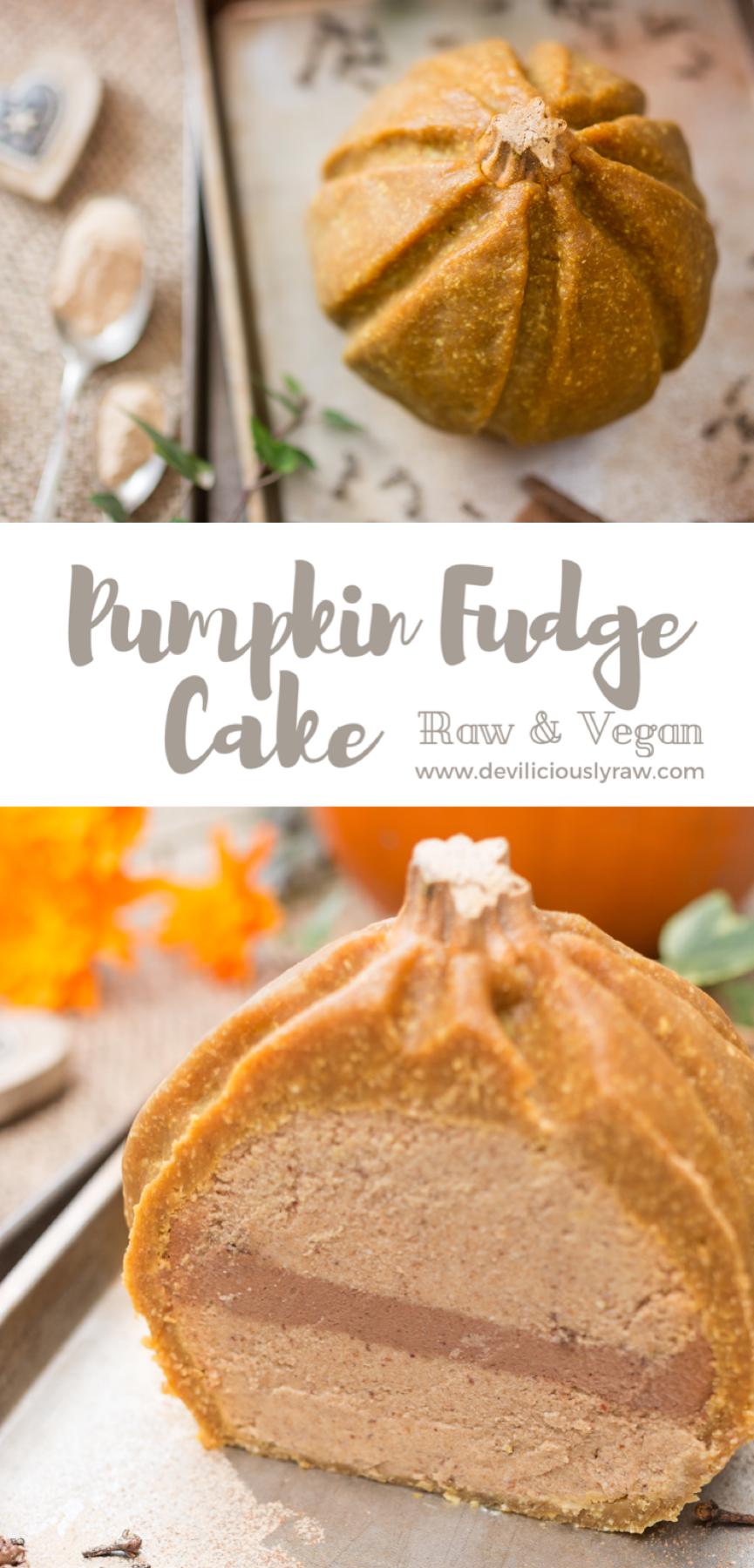 Pumpkin Fudge Cake