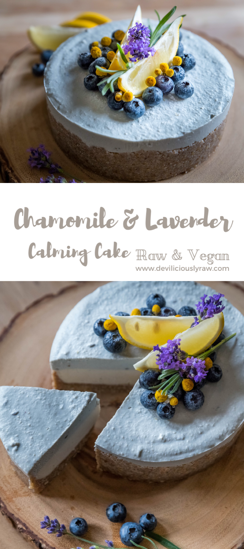 Calming Chamomile Lavender Cake