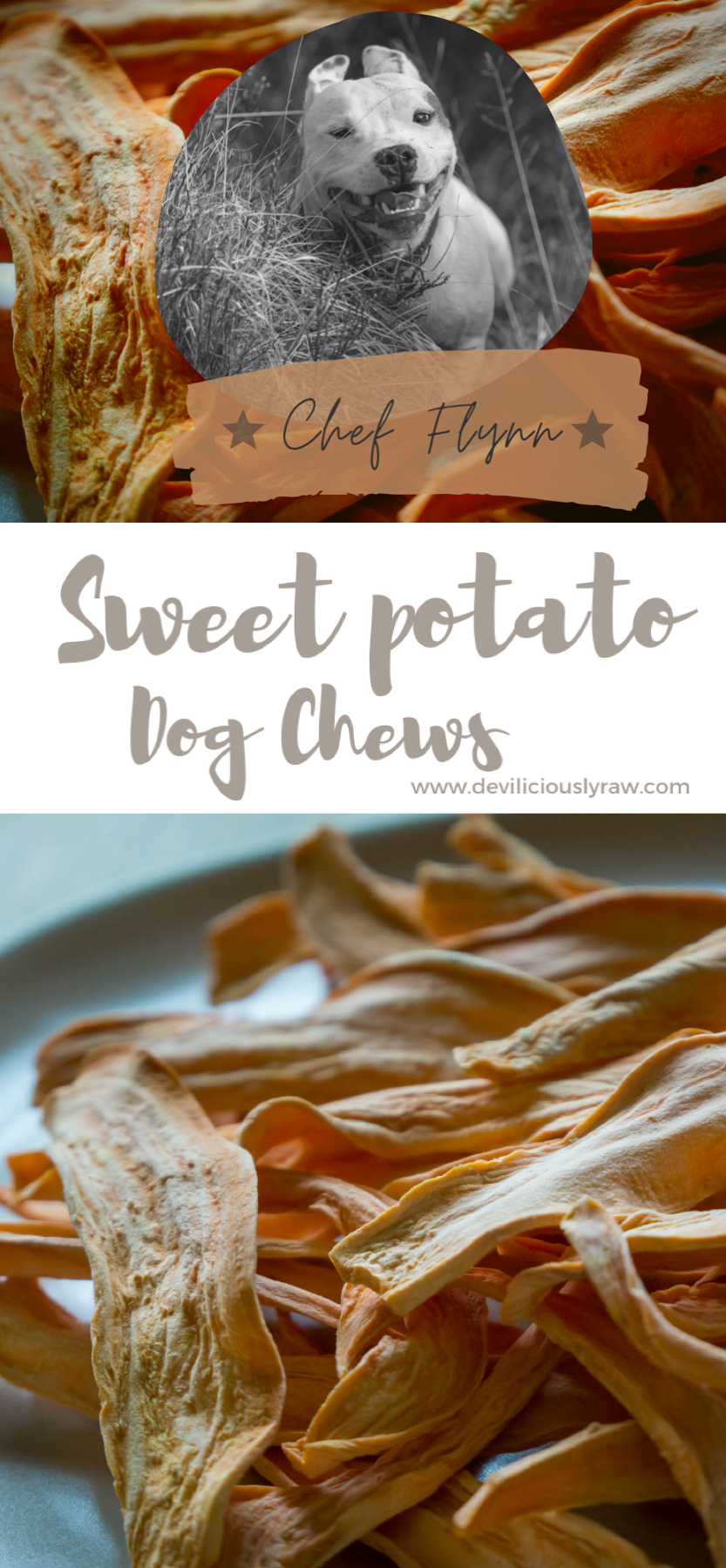 Sweet Potato Dog Chews