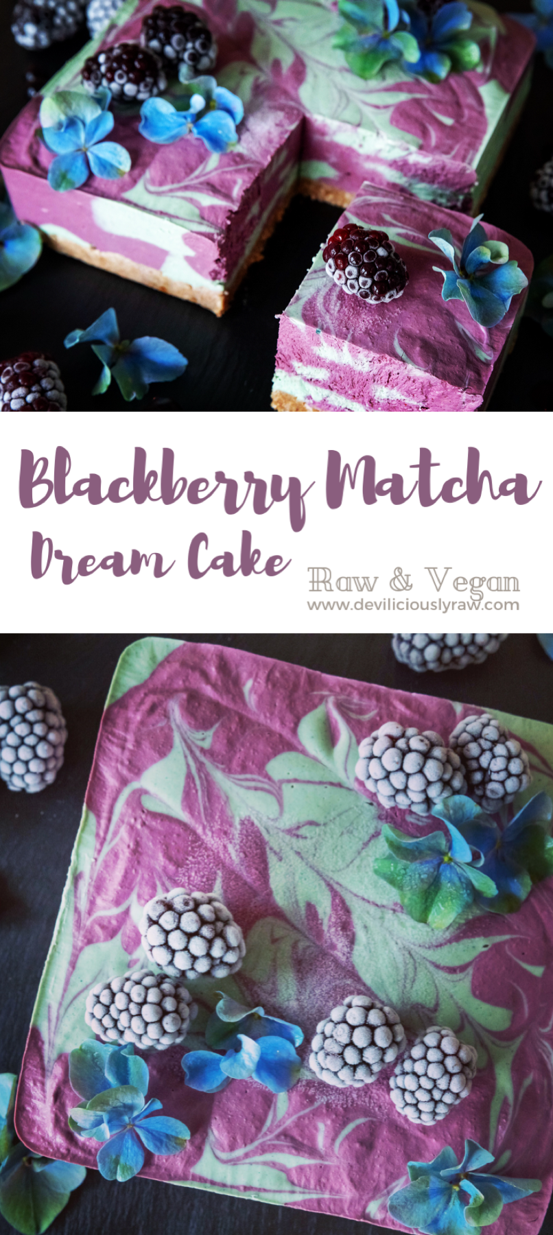 Blackberry Lime Dream Cake