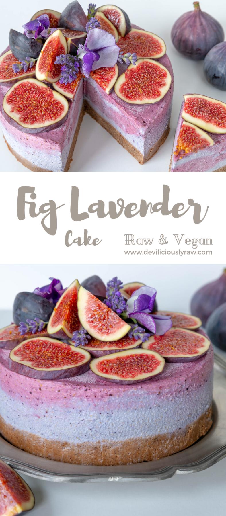 Fig Lavender Cake