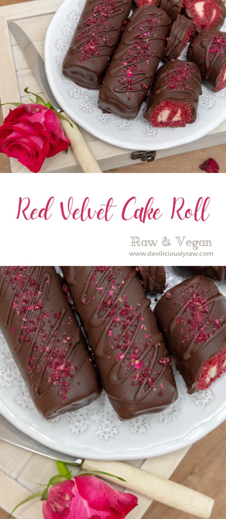 Red Velvet Cake Rolls