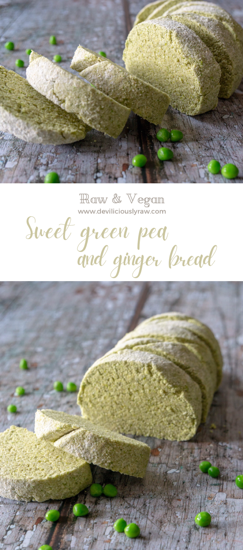 Sweet Green Pea and Ginger Bread