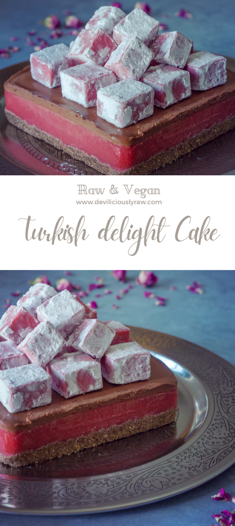 Turkish Delight Cake