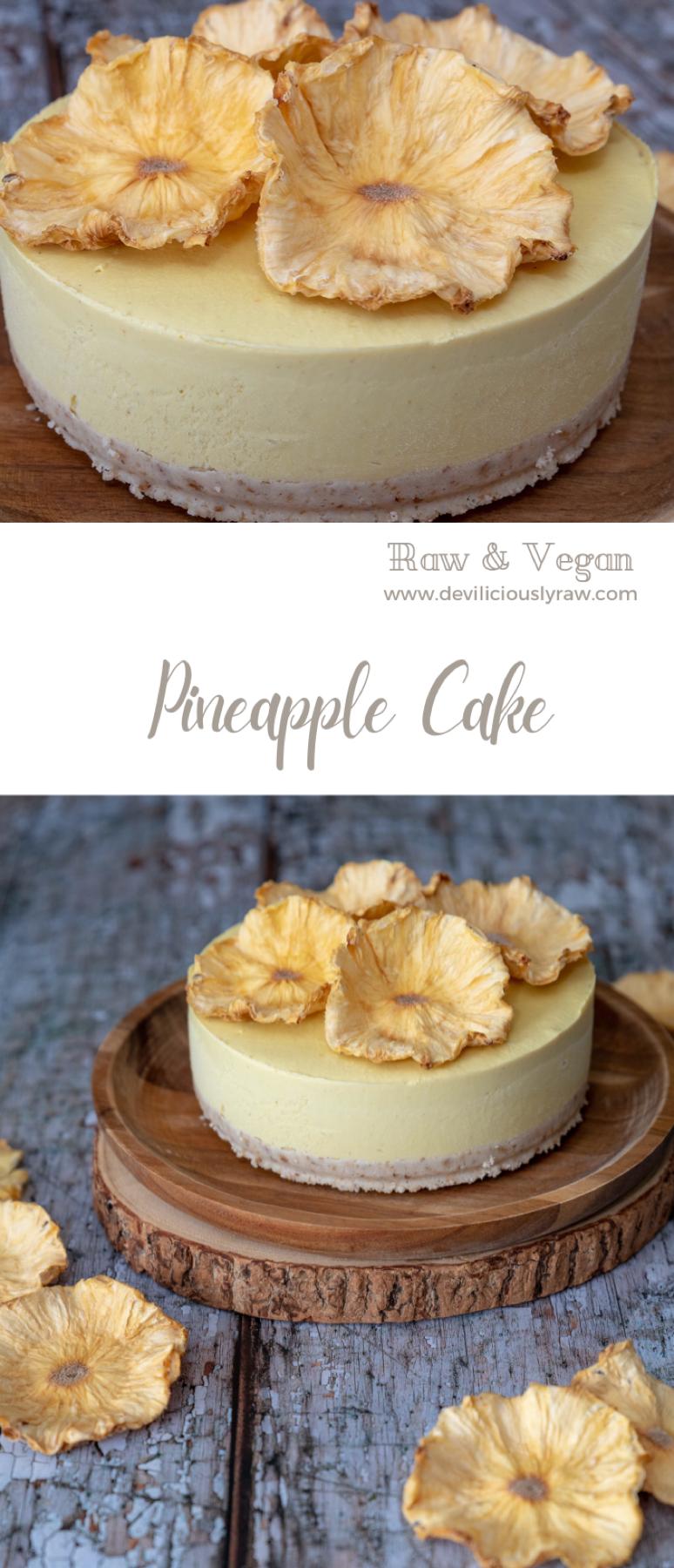 Tropical Pineapple Cake